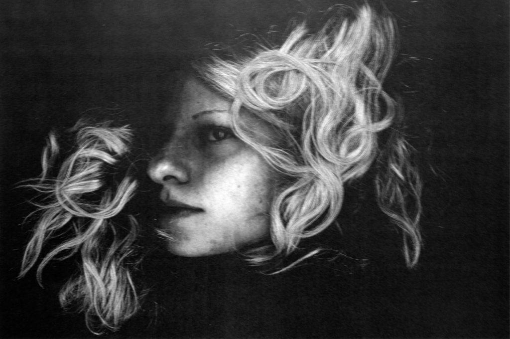 zelfportret scan
