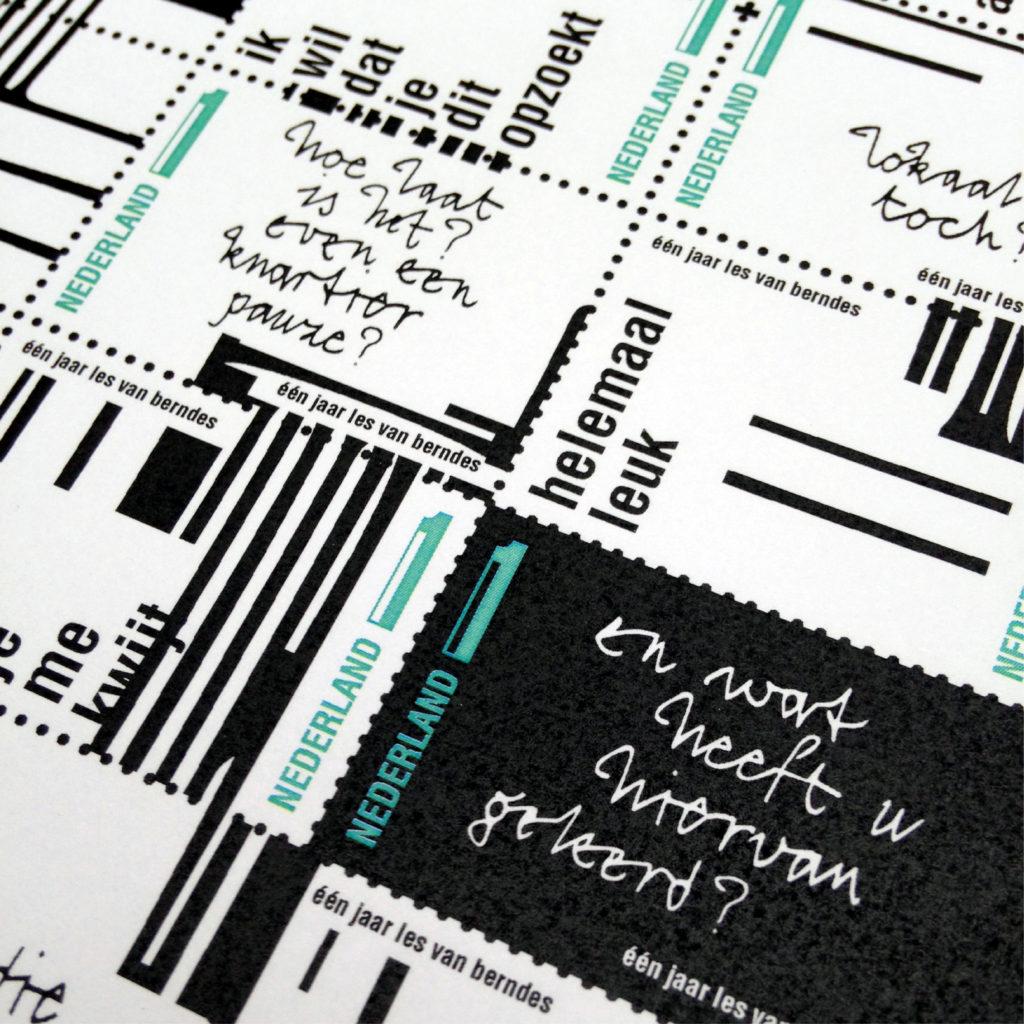 detail postzegels
